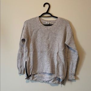 MADEWELL grey sweater